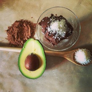 chocolate avo pudding 3